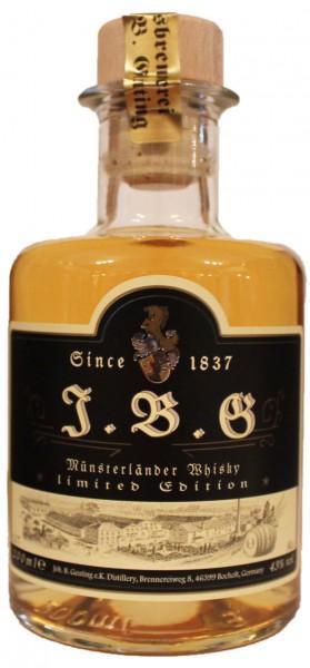 J.B.G Münsterländer Whisky, 43%vol.