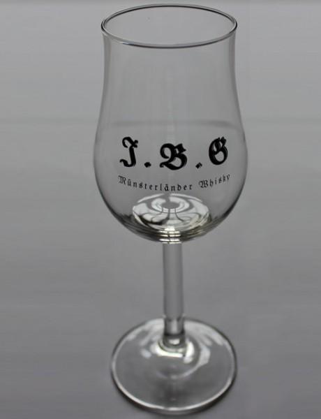 Bugatti Kelch mit Aufdruck (J.B.G Münsterländer Whisky)