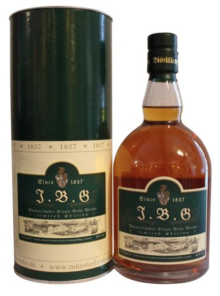J.B.G Münsterländer Single Grain Whisky new casks, 42%vol.